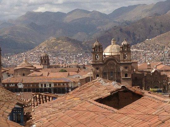 Plaza de Armas (Huacaypata): do Hostal Corihuasi