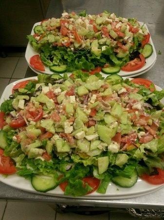 Pamukkale : Nos salades!!!