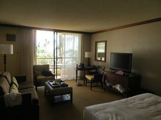Hyatt Regency Maui Resort and Spa: living area