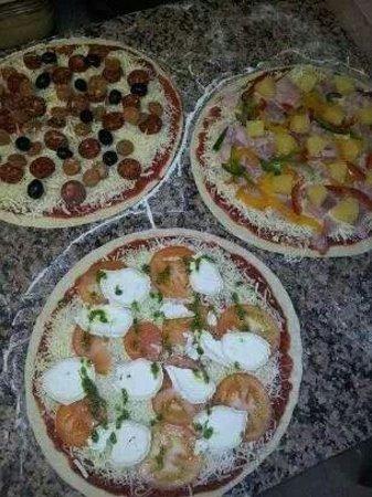 Pamukkale : Nos pizzas préparées à la commande !!!