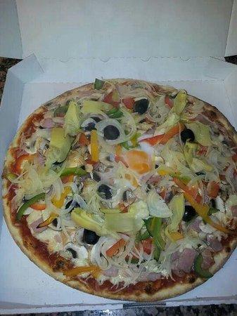 Pamukkale : Nos pizzas !!!
