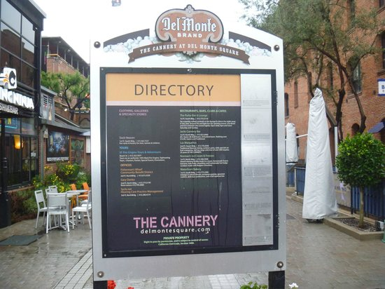 The Cannery: 看板