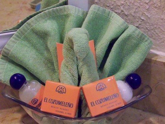 El Cozumeleno Beach Resort : Cute towel decoration