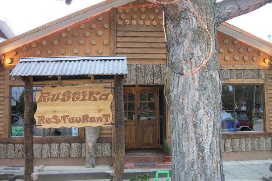 Rustika Restaurant: Rustica Restaurant, Puerto Natales, Chile - Fachada