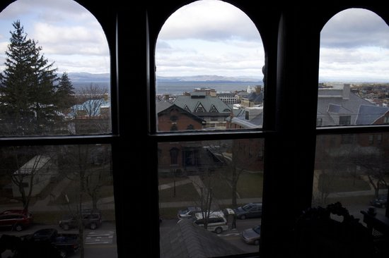 Made INN Vermont, an Urban-Chic Bed and Breakfast: View from the Widow's Walk