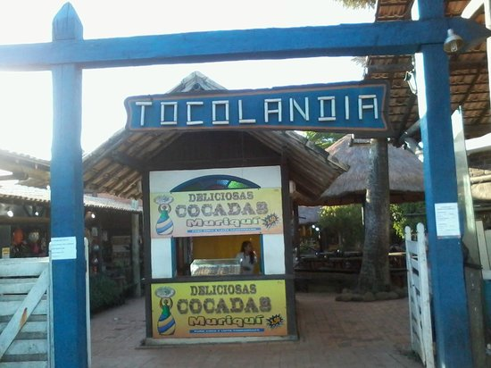 Tocolândia mini shoping artesanal em Costa Azul