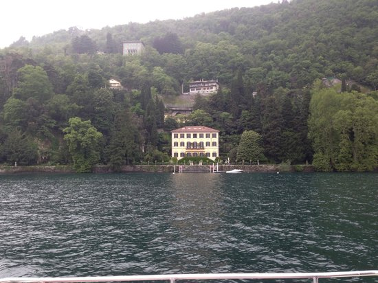 Villa d'Este: George Cloneys house ? Apparantly