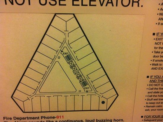 Sheraton Seattle Hotel : Floorplan
