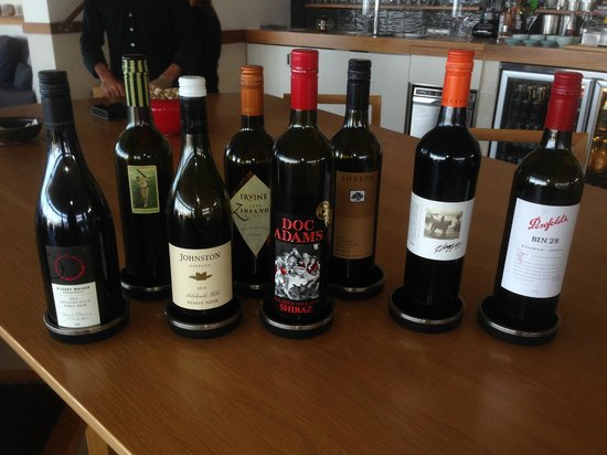Southern Ocean Lodge: Limited wine selection