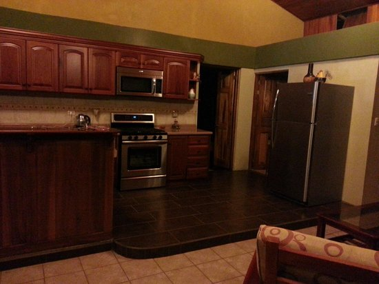 La Cascada Bed and Breakfast : Immaculate kitchen
