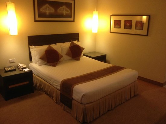 The Tarntawan Hotel Surawong Bangkok : Comfortable bed