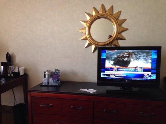 Sheraton Atlanta Airport Hotel: TV
