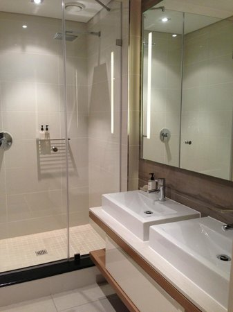The Residences at Crystal Towers: Master bedroom bathroom
