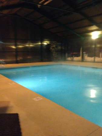 The Inn at Tomichi Village : The warm indoor pool