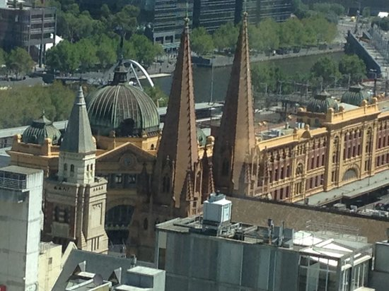 Grand Hyatt Melbourne : The view