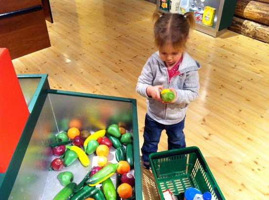 Boonshoft Museum of Discovery: Grocery store