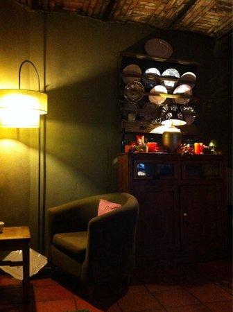 Colares Velho: Sala junto à lareira