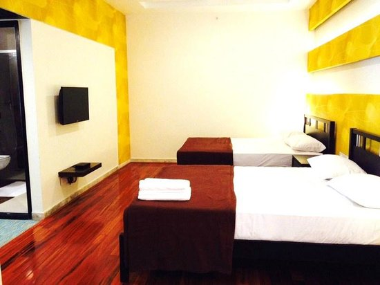 Star City Hotel & Serviced Apartments: Spacious and beautiful bedroom