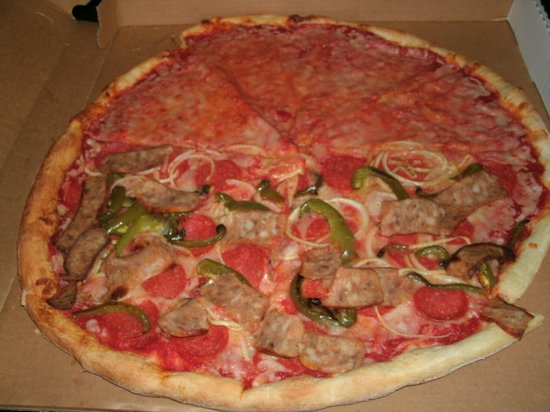 The Original Italian Pizzeria: Today's pizza