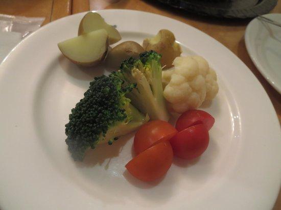 Bonna Castra: 野菜の盛合せ