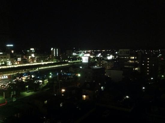 Kakegawa Grand Hotel: vista hacia la terminal