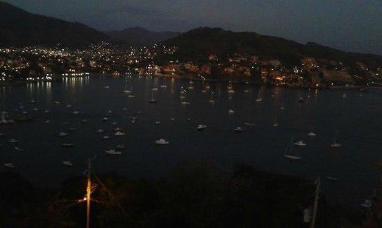 Vista desde la terraza de nuestra habitación en Villas El Morro