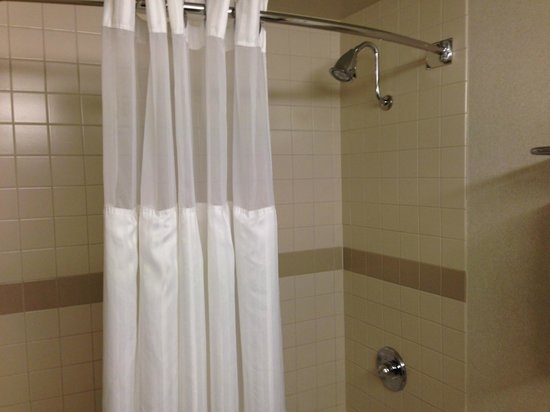 DoubleTree by Hilton Pleasant Prairie Kenosha : King Room Bathroom