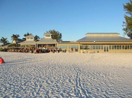Sandbar Restaurant: View from the Beach
