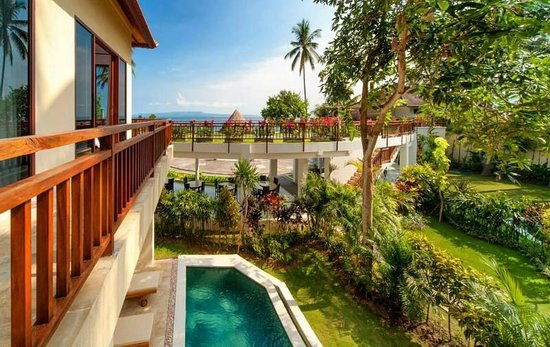 Discovery Candidasa Cottages & Villas : View from the villa