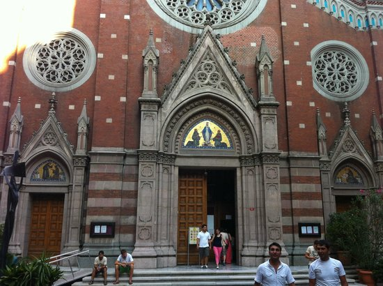St Anthony of Padua: the facade
