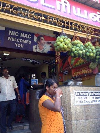 T Nagar, Ranganathan Street: coffee shop