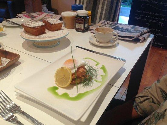 أروتاون هاوس بوتيك هوتل: breakfast example