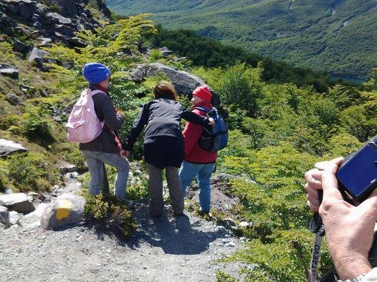 Aguas Arriba Lodge: recorrido por la montaña