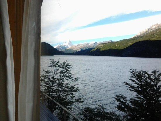 Aguas Arriba Lodge: otra vista desde la ventana de nuestro cuarto