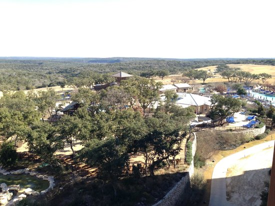 JW Marriott San Antonio Hill Country Resort & Spa : view from patio