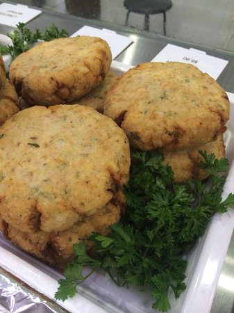 Four Fish Manly: Handmade fish cakes with salmon and barramundi