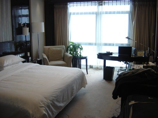 Shanghai Fujian Hotel : la chambre