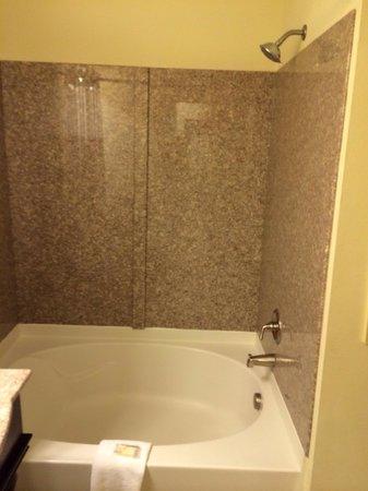 Wyndham Patriots Place: Soaking tub