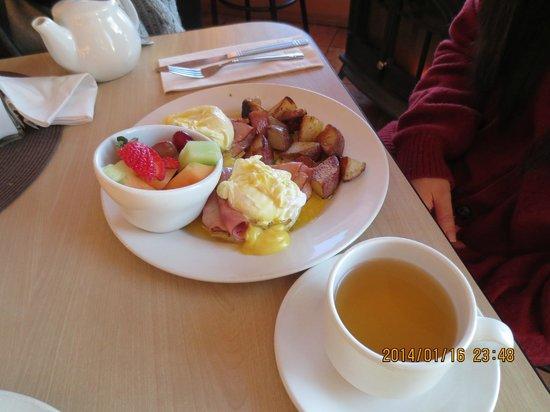 Dancing Moose Cafe: breakfast plate