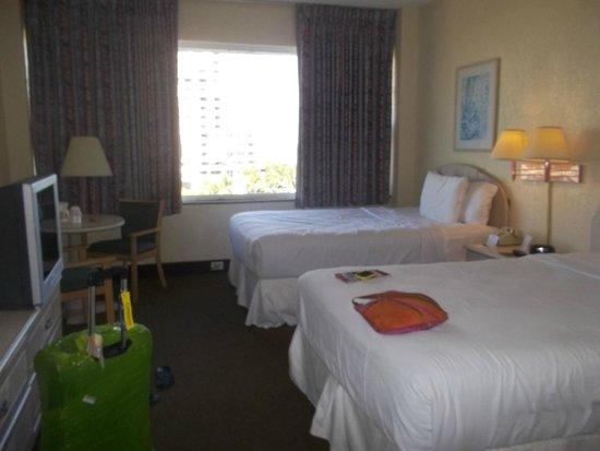 Seagull Hotel Miami South Beach: habitación con dos camas dobles