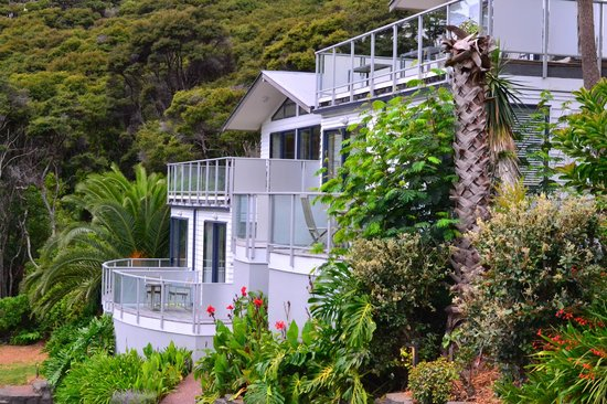 Waiheke Island Resort: The villas
