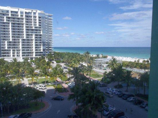 Seagull Hotel Miami South Beach: preciosa vista piso 7