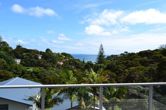 Waiheke Island Resort: View from the deck