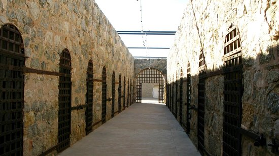 Yuma Territorial Prison State Historic Park : The original cell block