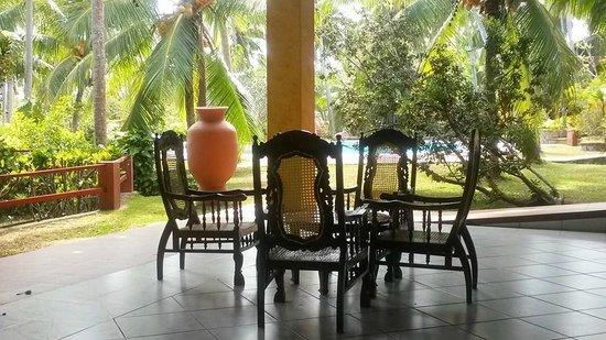 Eva Lanka Hotel: Salle à manger