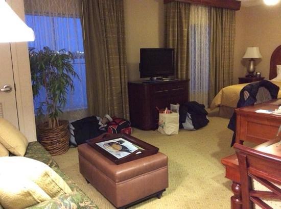 Homewood Suites Hagerstown: spacious rooms