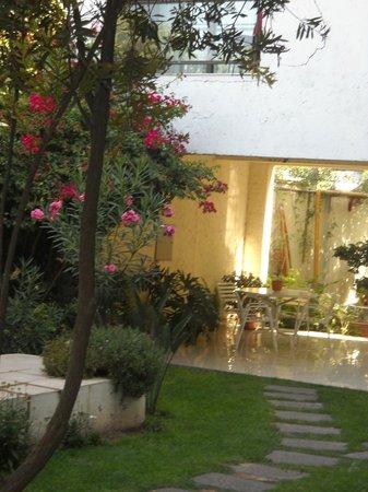 Paradise Departamentos: patio