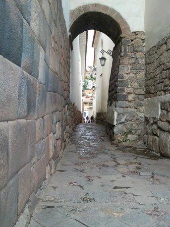 Plaza de las Nazarenas: Al fondo San Blas