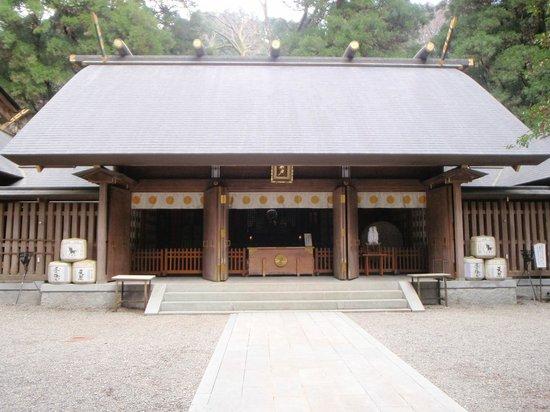 Amano Iwato Shrine: 拝殿