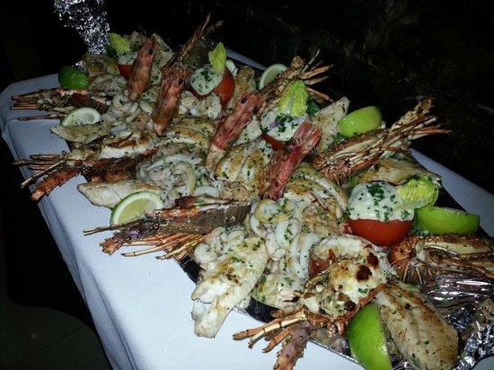 Golden gate Restaurant : Plateau du Poisson et Fruits de Mer